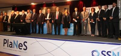 La SSN entregó distinciones en el marco del acto por los dos años del PlaNeS