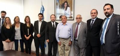 La SSN firmó un convenio con la Asociación Argentina de Motovehículos