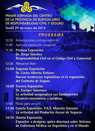 Primera Jornada de Responsabilidad Civil y Seguro