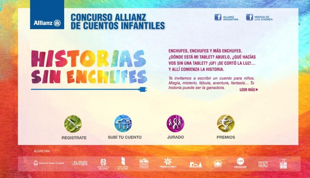 Allianz publicó los cuentos ganadores del concurso Historias sin Enchufes
