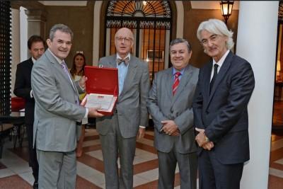 La SRT recibió un reconocimiento internacional al mérito institucional