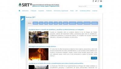Nueva información en el sitio de la SRT