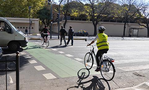 CESVI bicisendas y ciclovías