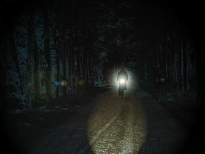 Ciclistas: solo el 30% son visibles durante la noche