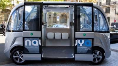 Taxis y colectivos sin conductor se hacen realidad en Singapur y Francia