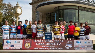 QBE Seguros fue anfitrión de la presentación oficial de la URBA Top 14