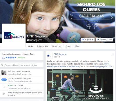 CNP lanzó sus redes sociales