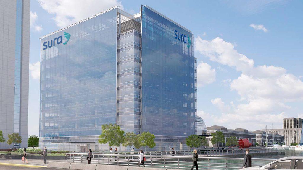 Nuevas oficinas corporativas de SURA en Puerto Madero